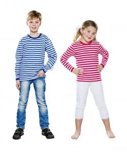 Ringel Pulli Retro Clown für Kinder