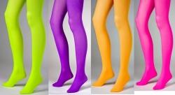 Strumpfhose Neonfarben